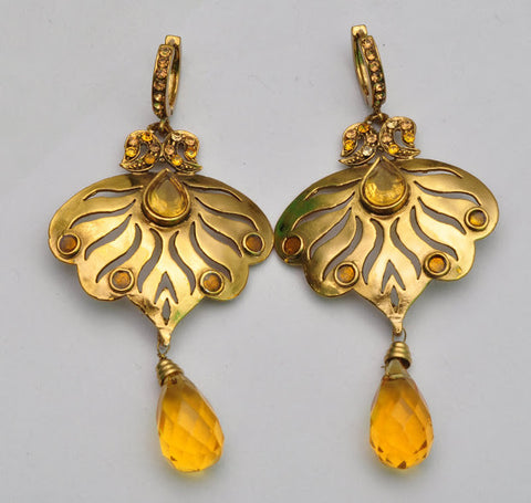 Elegant Bollywood Jhumki Earrings