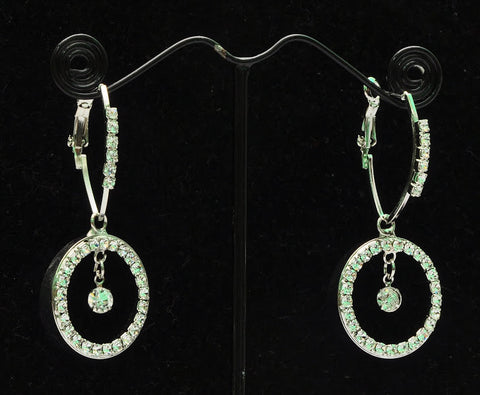 American Diamonds Indian Jhumka Earrings