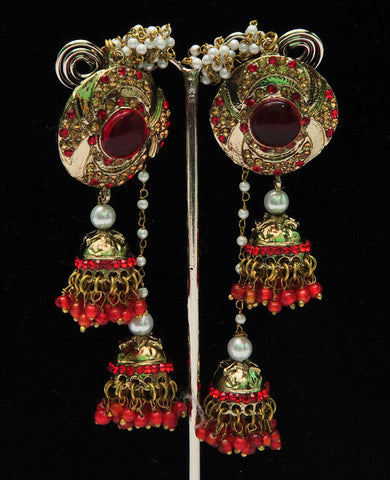 Fair Indian Jhumka Earrings