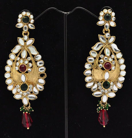 Low Hanging Indian Earrings