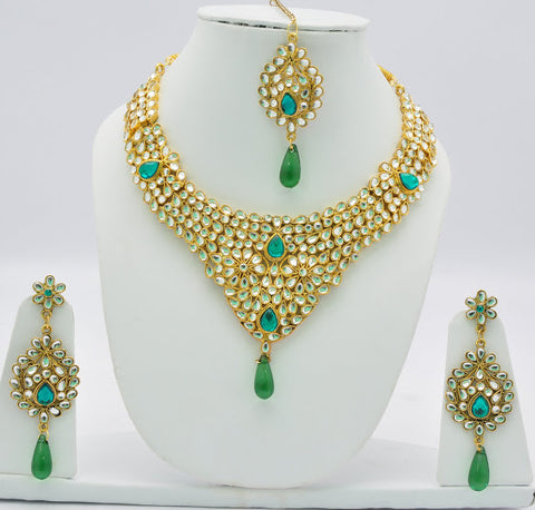 Epic Green Necklace Set