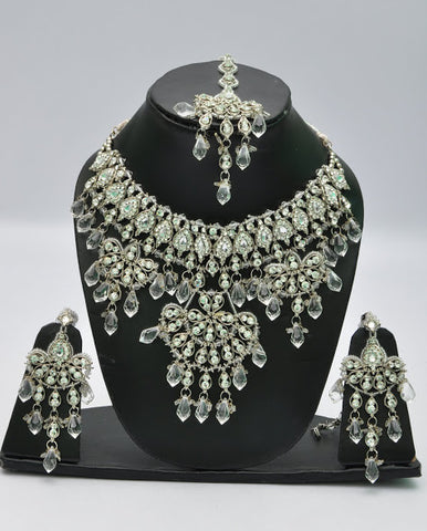 Dazzling Crystal Necklace Set