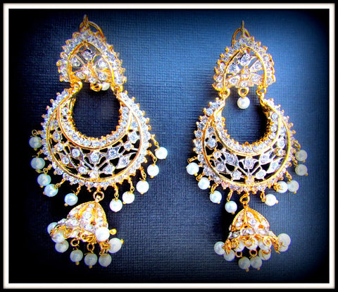 Daring Pakastini Jhumki Earrings