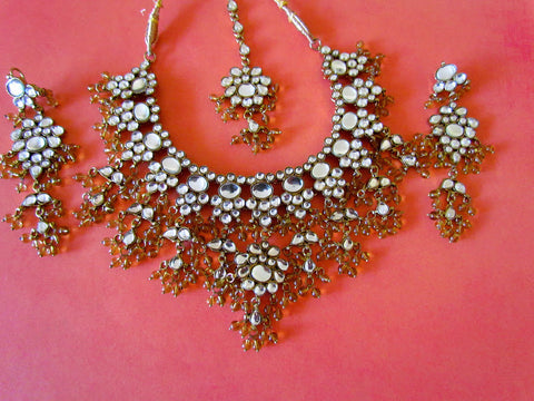 Playful Indian Necklace Set