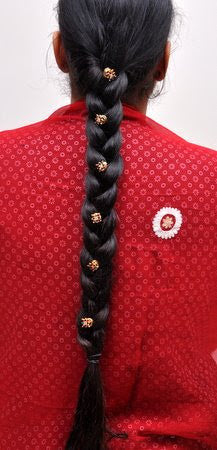 Bollywood Indian Hair Jewelry Gold