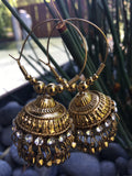 Indian Jhumka Loop Earrings