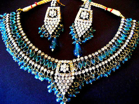 Victorian Kundan Necklace Set