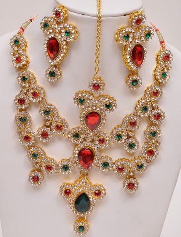Unique Elegant Indian Necklace Set