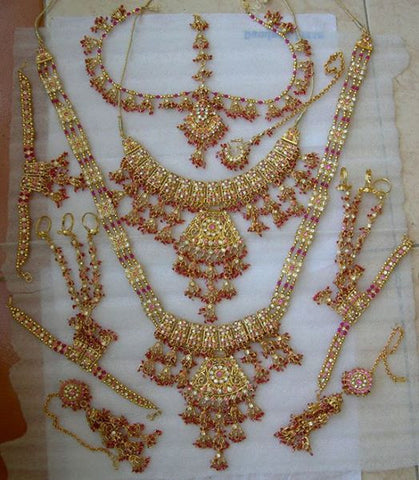 Indian Bridal Set in Gold Finish