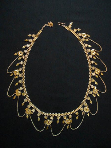 Gold Plated Belly Chains for Saree Indian Jewellery