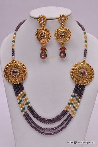 Hand Crafted Indian Necklace Set