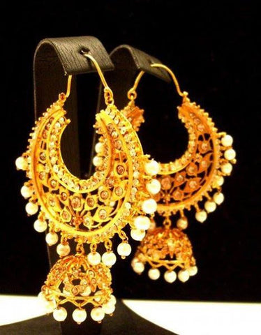 Pakistani Gold Plated Earrings