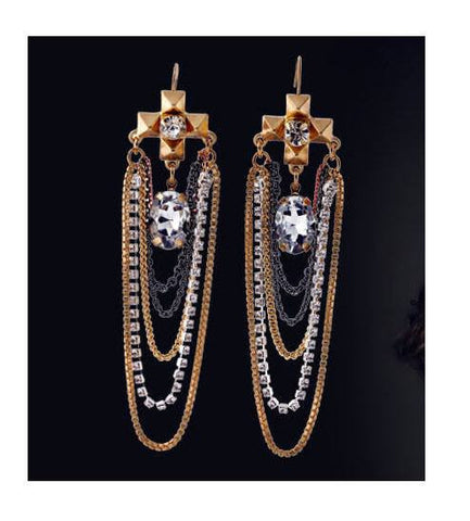 Stylish Chain Earrings