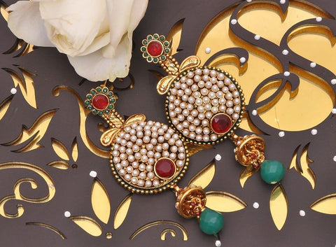 Handcrafted Indian Earrings