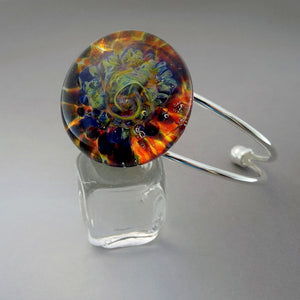 Cuff Bracelet Burst of Color