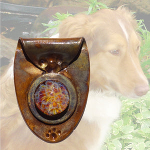 Memorial Cremation Pendant Copper
