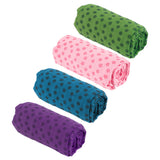 Soft Travel Sport Fitness Exercise Yoga Pilates Mat Cover Towel Blanket