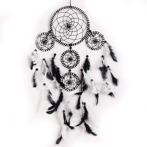 Handmade Dream Catcher with Feathers