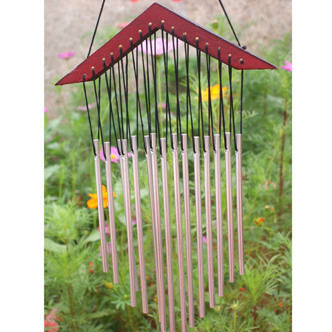 15 Tubes Antique Windchime Yard Garden Outdoor Living Decoration Wind Chimes Hanging Gift