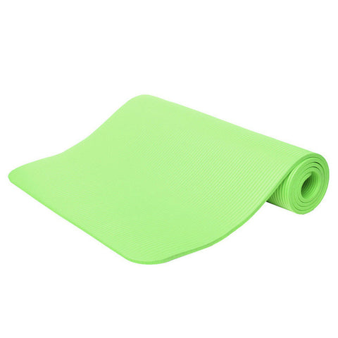 Non-Slip Yoga Mat Sport Pad Gym Soft Pilates Mats Foldable Pads for Body Building Training Exercises 10mm Thickess