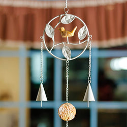 Dream Catcher Hangings Decor Dreamcatcher Accessories Wind Chime Resin Birds Wrought Iron Wind Chimes