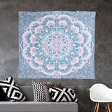 Indian Bohemian Mandala Tablecloth Wall Hanging Tapestry Sandy Beach Picnic Throw Rug Blanket Mattress Sleeping Pad Beach Towel