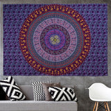 Elephant Square Indian tablecloth Wall Hanging Hippie Elephant Mandala Bedspread Ethnic Throw Art Multifunction