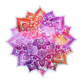 Mandala Tapestry/ Wall Hanging Polyester Wall Indian Elephant Lotus Yoga Mat Home Decor- 150cm