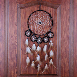 Beautiful Dream Catcher Hand-Woven Six Ring Dreamcatcher for Home Wall Decorations