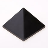 50-60g Natural Obsidian Mascot Quartz Pyramid Crystal Stone Healing Home Decor/DIY Ornament