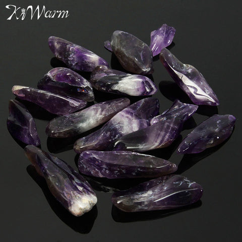 50g Natural Rough Purple Quartz Crystal Healing Stone Amethyst Point Specimen Minerals for Home Decor Gift