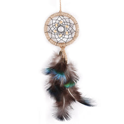 Dream Catcher Peacock Feather