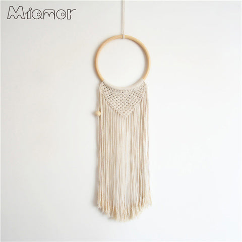Handmade Pure Cotton Rope Weaving Dream Catcher Net