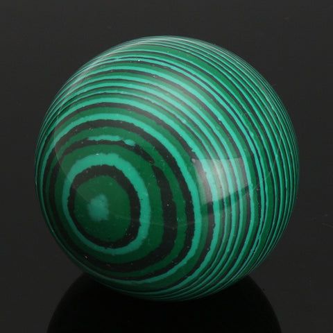 Malachite Green Gemstone Ball Crystal Sphere Healing Magic Stones Crafts Ornament for Home Decor Gift