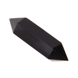 50-70mm Natural Obsidian Black Crystal Double Terminated Wand Healing Home decor/DIY ornament