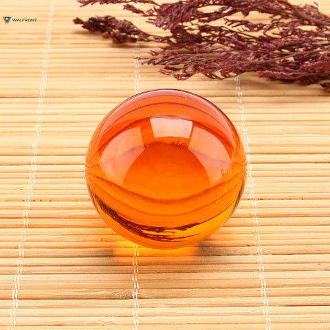 Natural Amber Magic Crystal Healing Ball Sphere 40mm + Stand