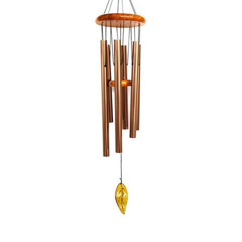"Feng Shui Wooden Wind Chime For Outdoor Patio Wind Chimes Tuned 36"" Wood Windchimes"