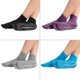 Women Five-toe Yoga Gym Dance Sport Exercise Non-Slip Massage Fitness Socks free shipping