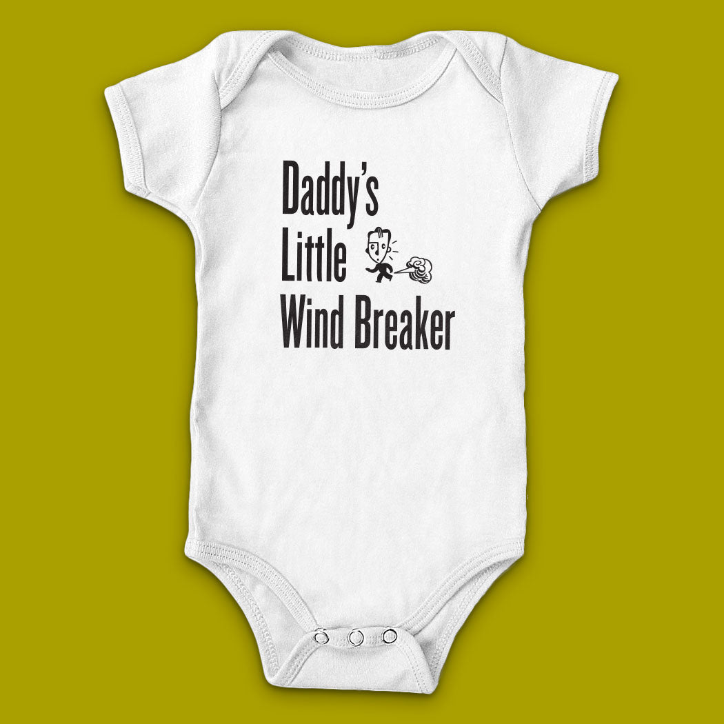 Daddy's Little Wind Breaker