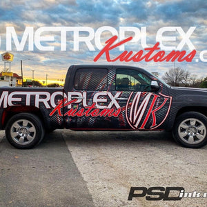 Metroplex Kustoms - Vehicle Wraps