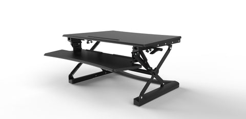 Sit / Stand Worktop Work Station - Medium