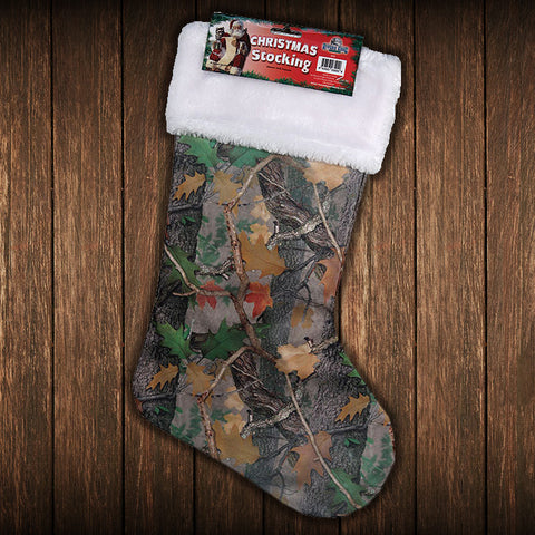 Camo Christmas Stocking