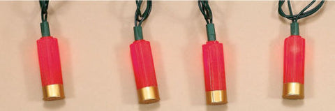 Shotgun Shell Decorative Party Lights - Spirit of the West Rustic Decor