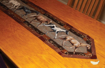 Horse Table Runner - Spirit of the West Rustic Decor