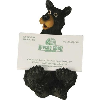 Black Bear Business Card Holder