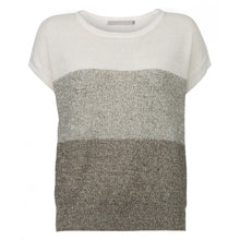 THREE COLOURS LINEN KNIT