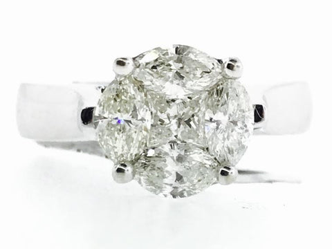 GALAXY CUT DIAMOND RING