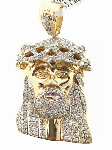 ICED THORN CROWN JESUS 3.50 CARATS