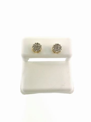 SMALL CLUSTER EARRINGS .50