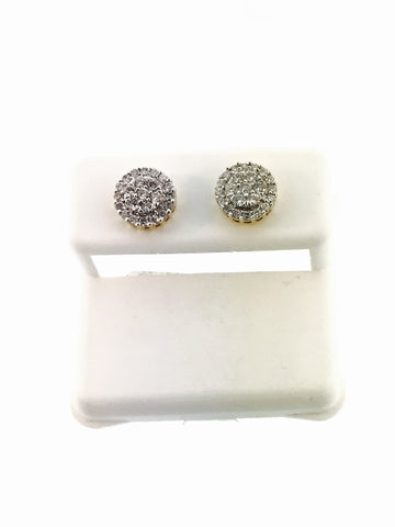 CLUSTER EARRINGS .50 CARATS